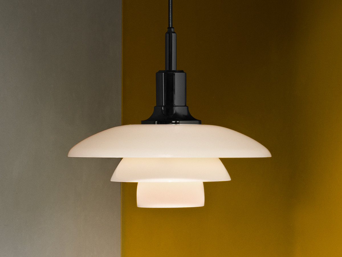 Buy the louis poulsen ph 3 3 glass pendant light at nest for Designer lighting