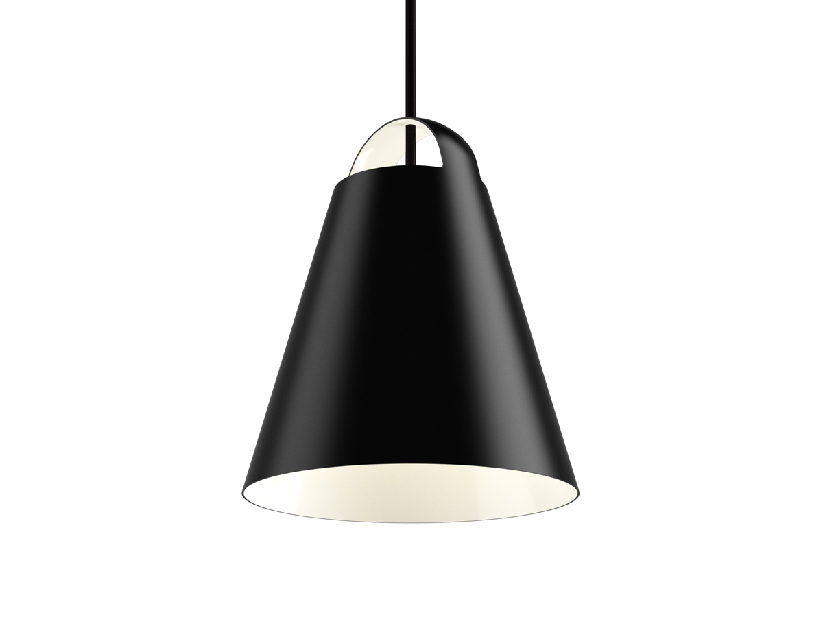 buy the louis poulsen above pendant light black at. Black Bedroom Furniture Sets. Home Design Ideas