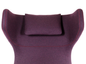 Ex-Display Vitra Grand Repos Lounge Chair & Ottoman - Cosy