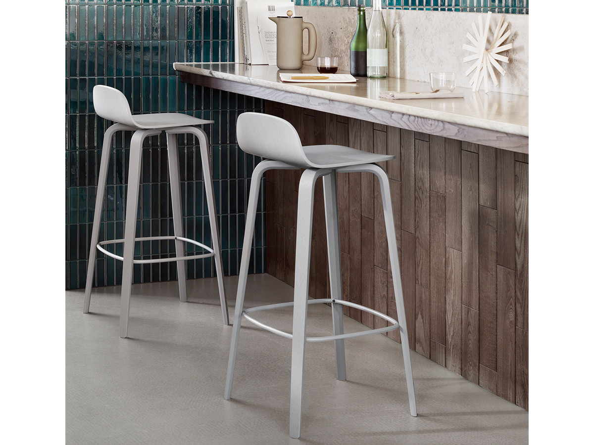space stool stools eileen by leather bar gray no weiss furniture for black classicon