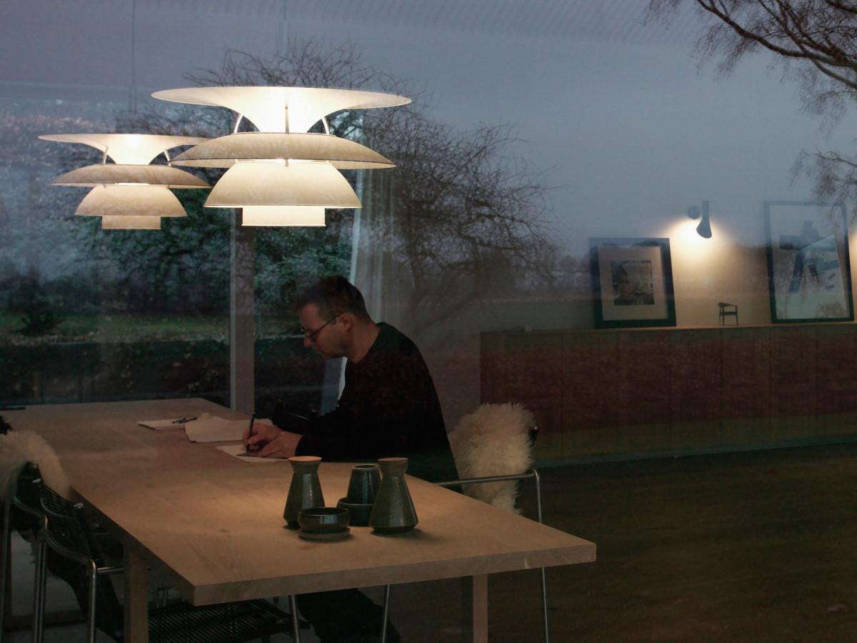 buy the louis poulsen ph 5 4 pendant light at. Black Bedroom Furniture Sets. Home Design Ideas