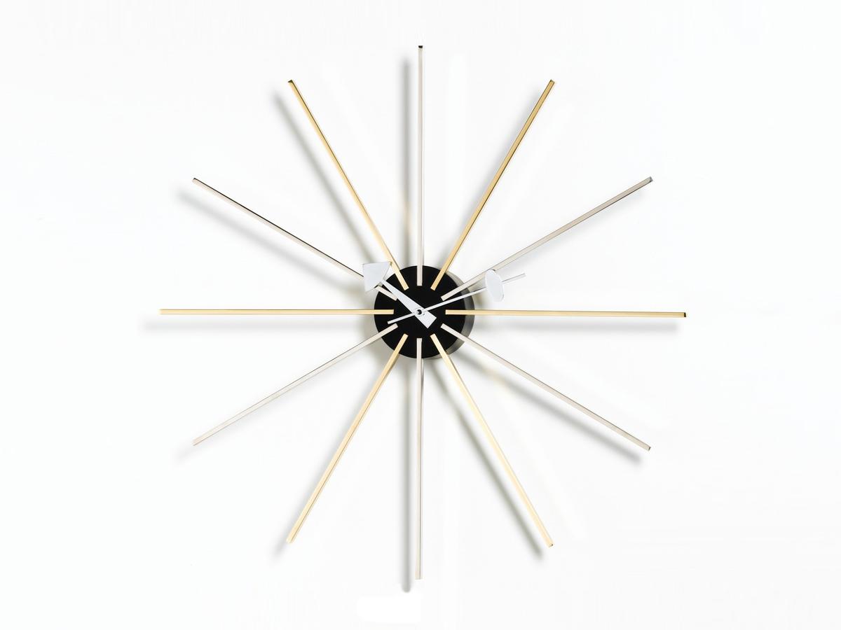 modern designer clocks  contemporary clocks at nestcouk - view vitra star wall clock