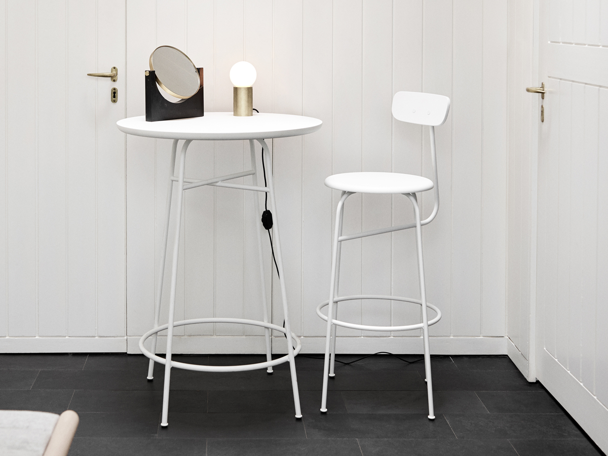 Buy the Menu Afteroom Counter Table at Nestcouk : Menu Afteroom Bar Stool White lifestyle 2 from www.nest.co.uk size 1200 x 900 jpeg 457kB