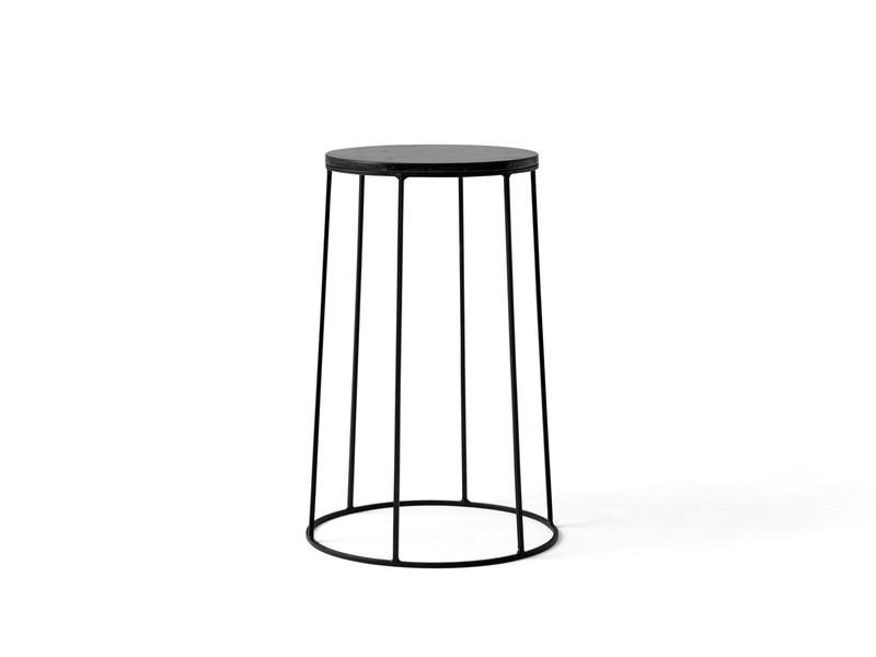 Menu Wire Series Side Table Black