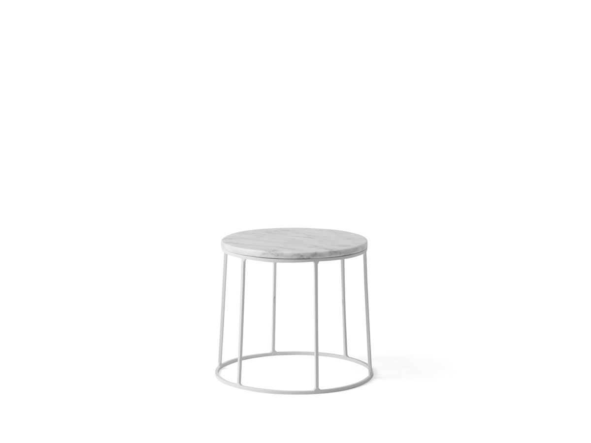 Buy the menu wire series side table white at nest menu wire series side table white 12345 greentooth Gallery