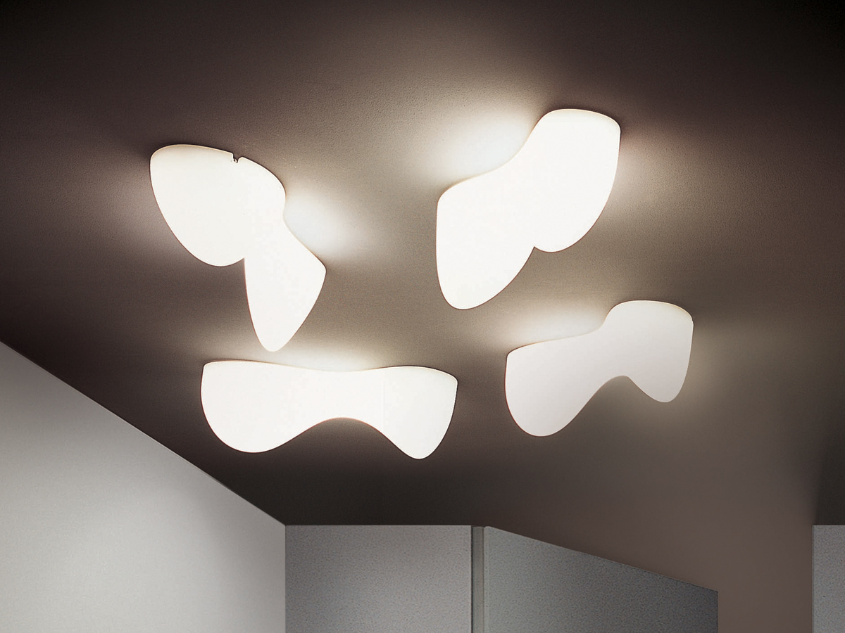 lighting wall by clara space lamp piero furniture flos for lissoni ceilings ceiling