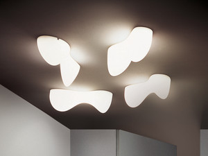 View Foscarini Blob Wall/Ceiling Light
