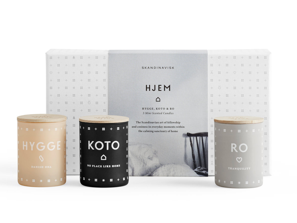 Buy the skandinavisk hjem home mini candle gift set at for Nest candles where to buy
