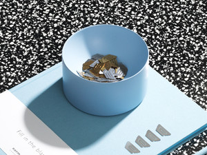 Normann Copenhagen Moon Tray Powder Blue