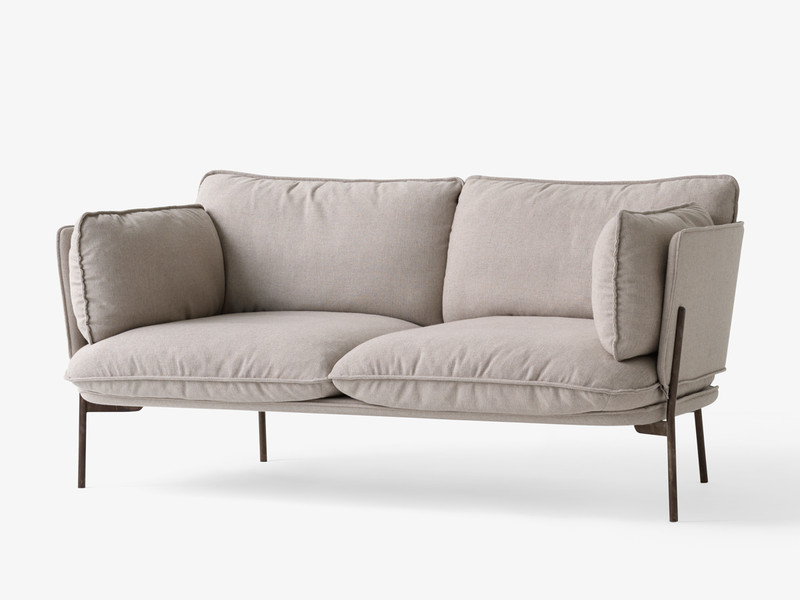 U0026Tradition Cloud Two Seater Sofa LN2