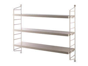 View String Pocket Shelving Sand
