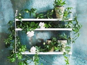 View String Pocket Shelving White