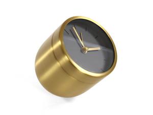 View Ex-Display Menu Norm Tumbler Alarm Clock Brass