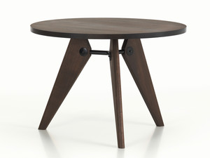 View Vitra Gueridon Table Smoked Oak