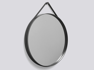 Hay Strap Mirror Anthracite