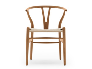 View Carl Hansen Limited Edition CH24 Wishbone Chair Elm