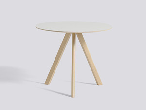 Hay Copenhague Round Table CPH20 with Oak Base