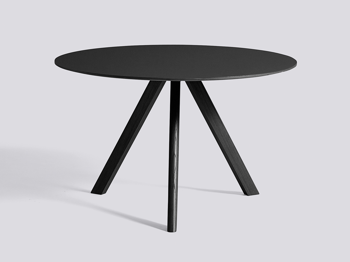 Merveilleux ... Round Table CPH20 With Black Base. 123