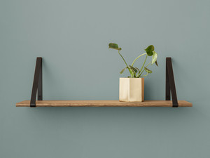 View Ferm Living Shelf Smoked Oak