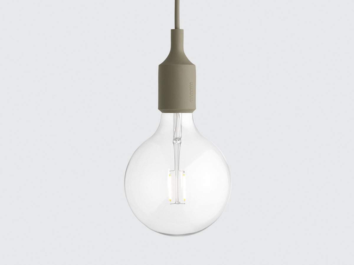 Muuto designer furniture lighting home accessories nest muuto e27 pendant light led mozeypictures Image collections