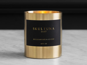 Skultuna Scented Candle Blackwood