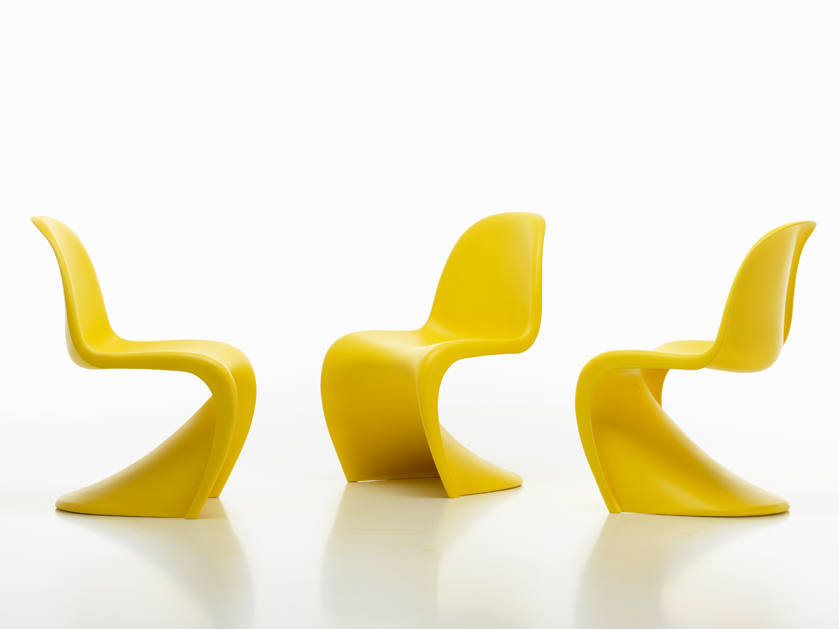 Buy the Vitra Panton Chair Limited Edition Sunlight at Nest.co.uk