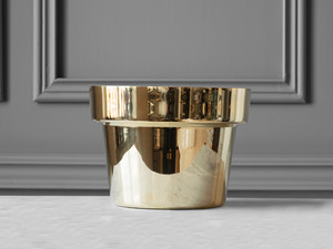 View Skultuna Flower Pot Polished Brass