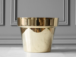 Skultuna Flower Pot Polished Brass