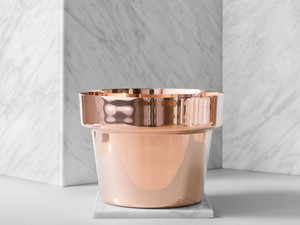 View Skultuna Flower Pot Copper