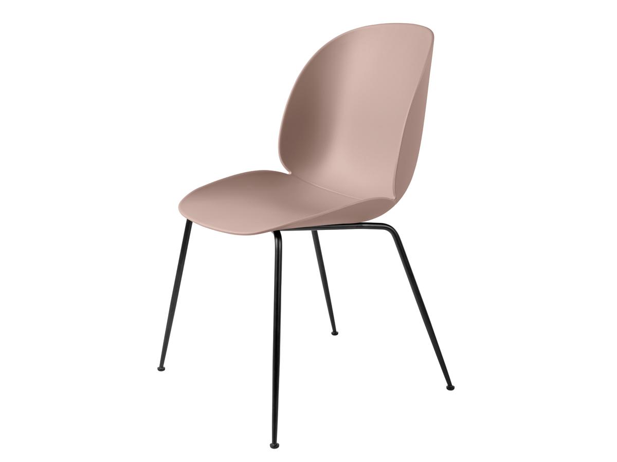 buy the gubi beetle dining chair unupholstered black base in black base at. Black Bedroom Furniture Sets. Home Design Ideas