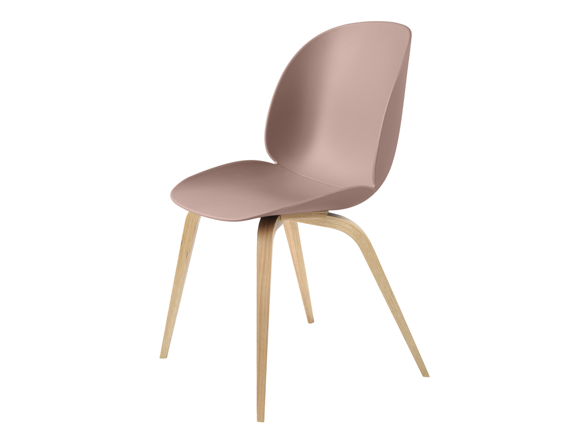 Pink Dining Chairs Uk Pastel pink retro dining chair with a