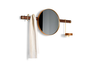 Poltrona Frau Ren Wall Mirror with Hangers