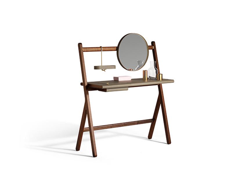 Buy the Poltrona Frau Ren Dressing Table at Nest.co.uk