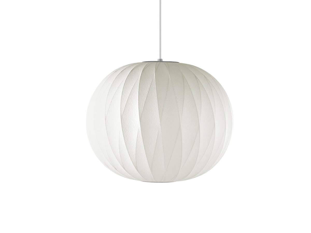 George nelson mid century lamps wall clocks at nest herman miller george nelson bubble crisscross ball pendant lamp aloadofball Image collections