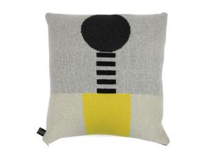 Giannina Capitani Yellow Square Cushion Large