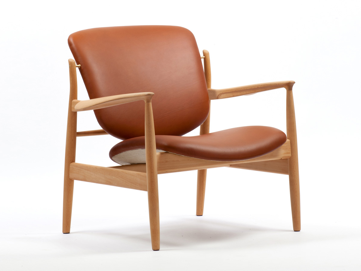 ... Finn Juhl France Chair. 123456  sc 1 st  Nest.co.uk & Buy the House of Finn Juhl France Chair at Nest.co.uk