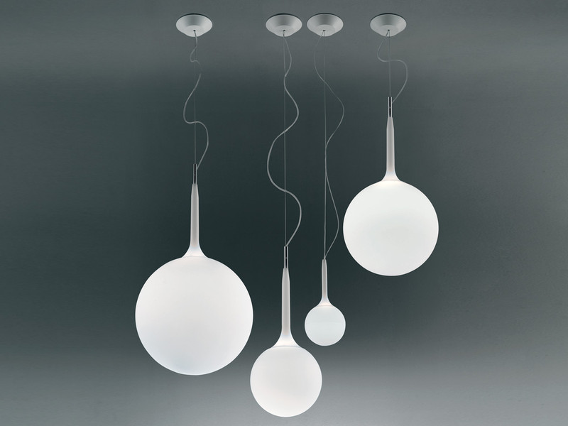 buy the artemide castore suspension light at nest co uk