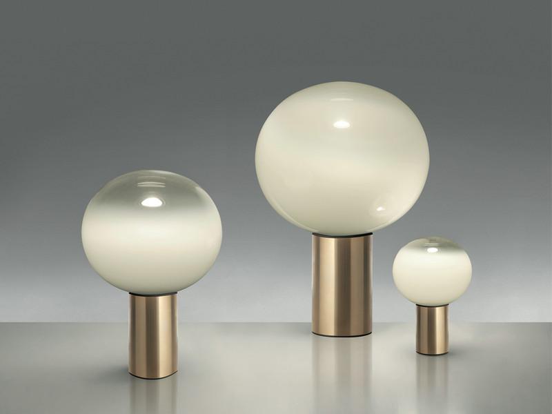 Buy the artemide laguna table lamp gold at nest artemide laguna table lamp gold aloadofball Gallery