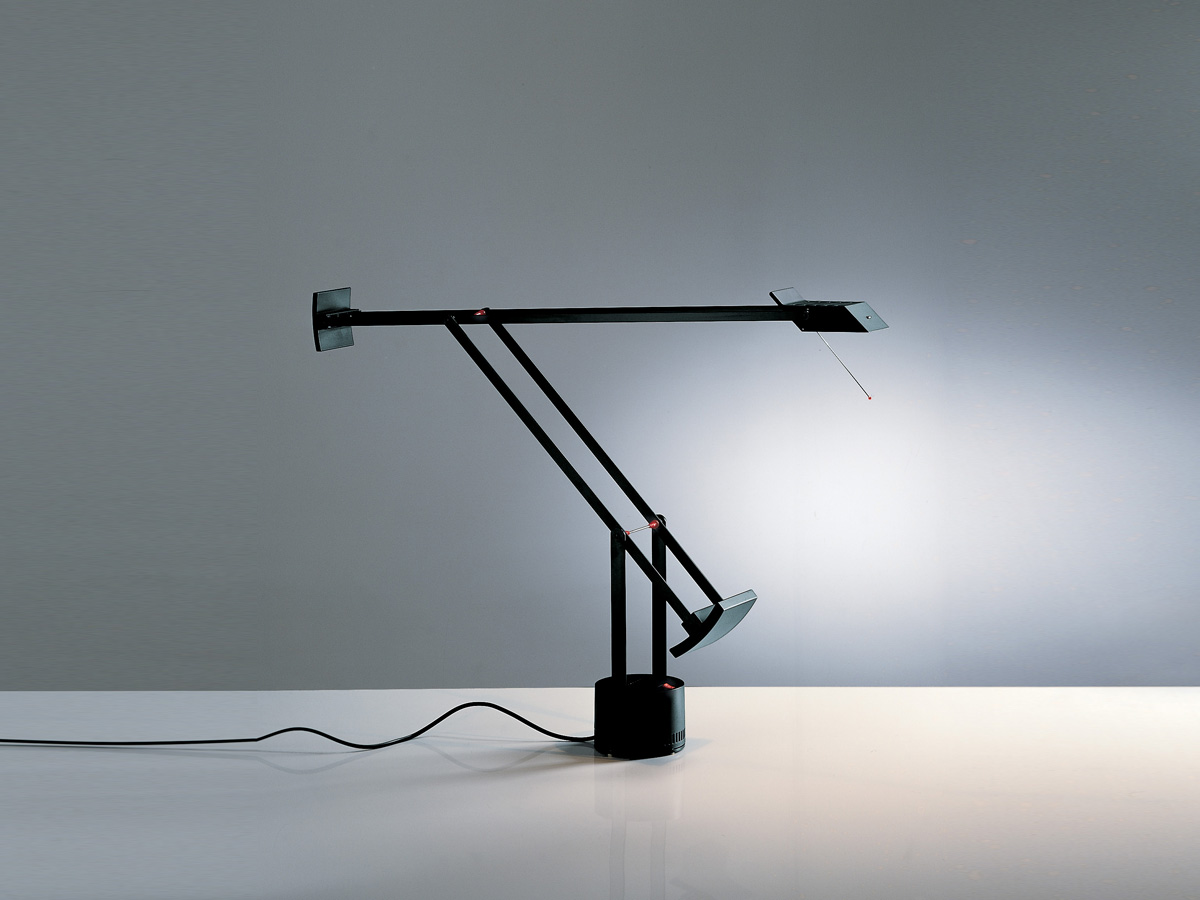 buy the artemide tizio led table lamp at nest co uk