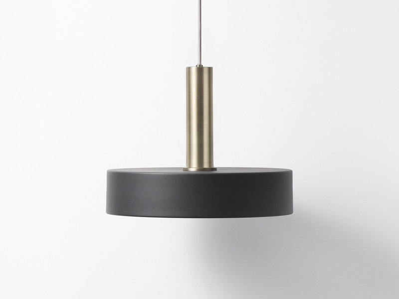Ferm living collect pendant light with record shade