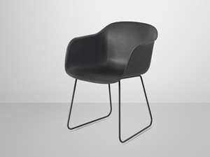 View Muuto Fiber Armchair Sled Base