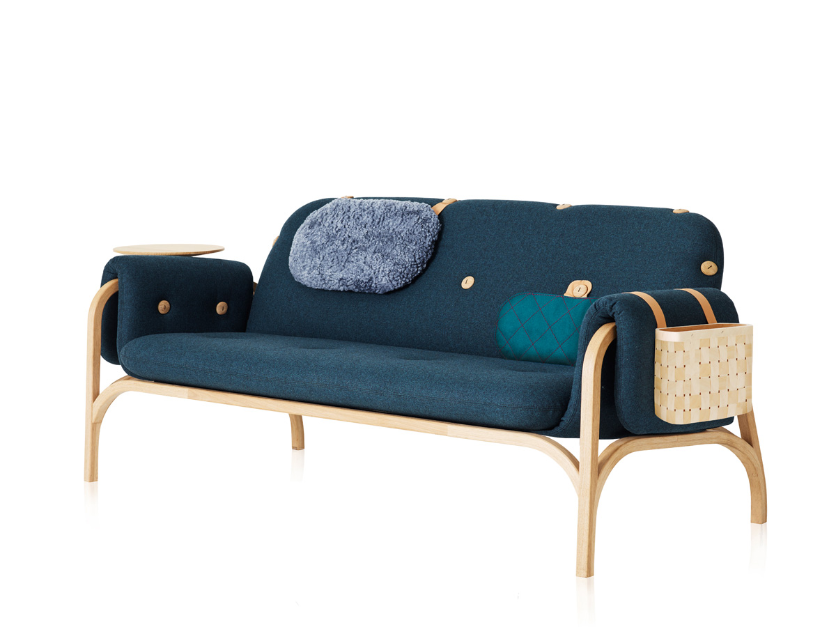 Buy the Swedese Button Sofa at Nest co uk