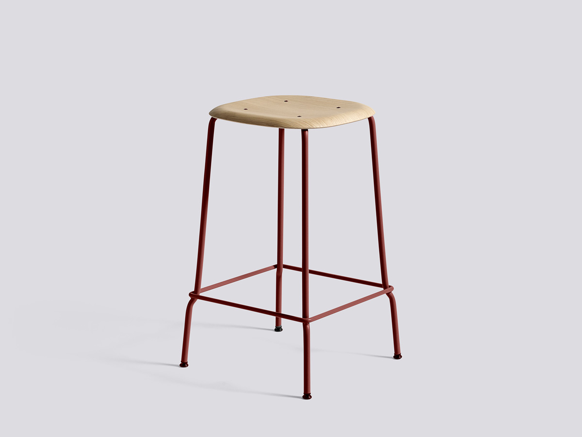 Buy The Hay Soft Edge 30 Bar Stool In Height 75cm At Nest