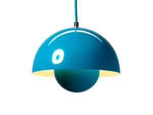 View &Tradition FlowerPot VP1 Pendant Light Turquoise