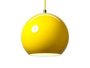 View &Tradition Topan VP6 Pendant Light Yellow