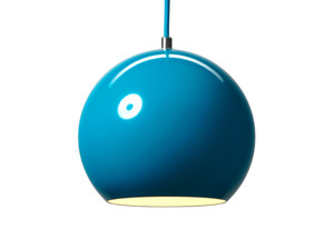 View &Tradition Topan VP6 Pendant Light Turquoise