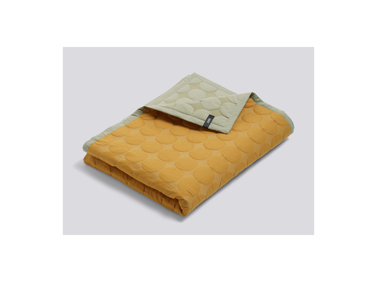buy the ex display hay mega dot bed cover yellow at nest co uk ex display hay mega dot bed cover yellow