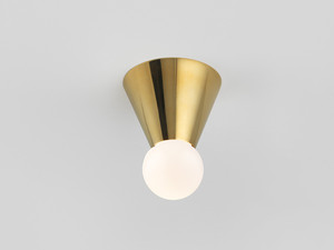 View Michael Anastassiades Cone Wall/Ceiling Light