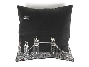 View Ex-Display Charlene Mullen Tower Bridge By Night Cushion