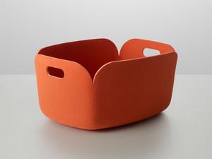 View Muuto Restore Storage Basket Orange